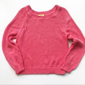 💛 Banana Republic Milly Sweater Pullover Coral
